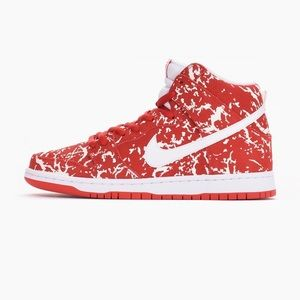 Nike Shoes - NIKE Supreme SB Raw Meat Challenge 313171-616 Sz 6